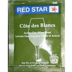 Red Star Cotes de Blanc Yeast - 5 g.